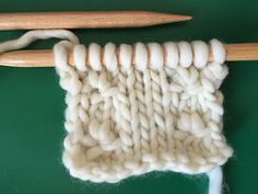 How to knit knot stitch | We Are Knitters Blog