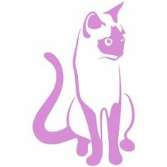 Housecat Decal Sticker. Available in 19 colors! $
