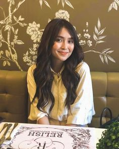 Kathryn for Cray Lemons, February 2019 © Kathryn Bernardo Photoshoot, Kathryn Bernardo Hairstyle, Kathryn Bernardo Outfits, Filipina Actress, Filipina Girls, Daniel Padilla, Aesthetic Girl, Ulzzang Girl, Cute Hairstyles