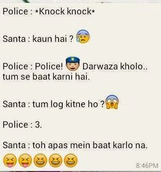 Urdu Latifay: Police and Santa Jokes in Roman Urdu 2014
