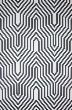 Osborne & Little, O wallpaper album 5, Minaret wallpaper in B