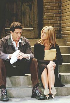 #Friends - #RossGeller #RachelGreene