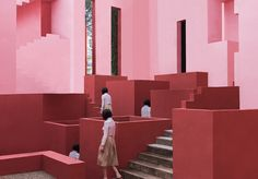 La Muralla Roja Project by architect Ricardo Bofill