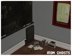 Iron Ghosts (30 Plaster Walls) / Exercise Book (30 Brick Walls)