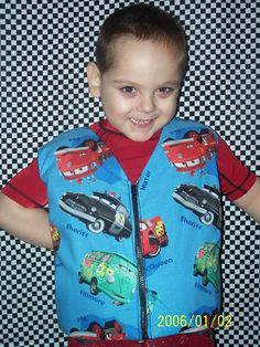Handmade weighted vests and blankets for children with sensory issues.