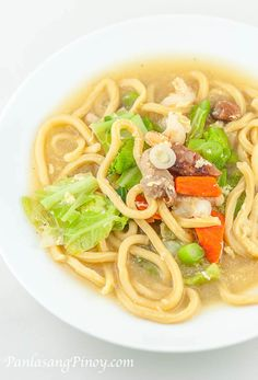 Pancit Lomi is a delicious Filipino Noodle Recipe. Learn how to cook this dish by reading this post.