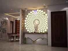Pooja Room Design, House Design, Door Design, Foyer Design, Room Design, Pooja Rooms, Room Door Design, Pooja Room Door Design, Wall Design