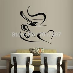 Wall Decal Decor Decals Art Sticker All Seeing Eye Annuit Coeptis Illuminati Cyperus Bone Triangle Providence Inscription by DecorWallDecals Kitchen Vinyl, Kitchen Wall Stickers, Kitchen Spoon, Kitchen Decor, My Coffee Shop, Coffee Cup, Coffee Heart, Coffee Menu, Deco Cafe