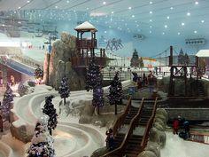 Indoor skiing in Dubai? Yes please!