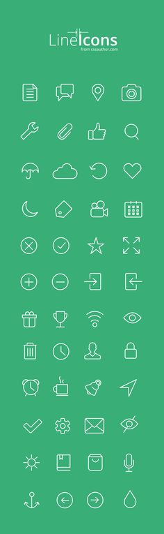 Free Icons for Web and User Interface Design # 17