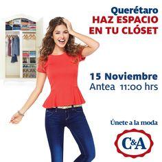 C&A abrirá sus puertas este 15 de Noviembre junto con la apertura de #Antea Lifestyle Center.