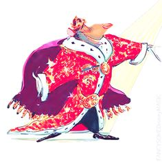 Disney Concept Art - The Great Mouse Detective
