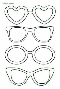 """Summer Is Sweet In Preschool!"" Bulletin Board Idea Sunglasses Templates – have staff draw what they did in the lenses and then put them up on or around giant sunshine in lounge. Sunglasses Templates perfect for Kids Crafts, Summer Crafts, Summer Art, Arts And Crafts, Paper Crafts, Summer Time, Easy Crafts, Food Coloring, Coloring Pages"