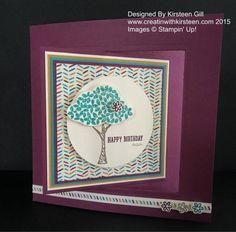 Sprinkles of Life Tree Card