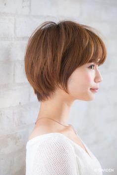 【joemi】ふんわりトップのショートスタイル(小倉太郎) | GARDEN HAIR CATALOG | 原宿 表参道 銀座 美容室 ヘアサロン ガーデン