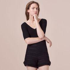 INGRID Black 210 | maje.com
