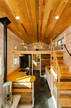 Small is most certainly beautiful when it comes to these gorgeous tiny home designs.
