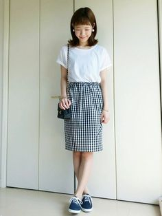 mahoさんのプロフィール画像 #gingham #spring #style #outfits