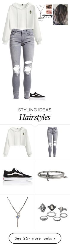 """""""Really Random Outfit (OC)"""" by nataliaace on Polyvore featuring AMIRI, Vans, Feathered Soul, Alex and Ani, Charlotte Russe and EyeBuyDirect.com"""