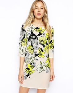 ASOS Beautiful Floral T-shirt Dress