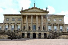image of kedleston hall | Kedleston Hall , Derbyshire, which Robert Adam worked on for around 20 ...