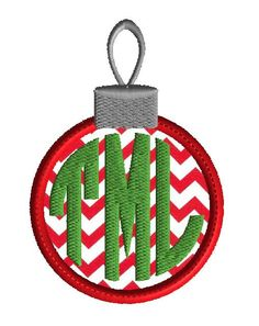 Christmas Embroidery monogram frame, machine embroidery design, instant download holiday design, 3 size applique, no fonts included