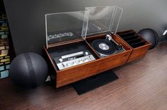 Clairtone G2 stereo (second generation T14 model) produced by Clairtone of Canada in 1966. #mcmdaily #clairtone #clairtoneprojectg #clairtoneg2 #canada mcmdaily.com