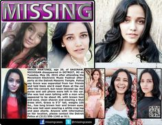 Missing ! We can help this girl ! Grace Martinez