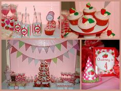 Strawberry Shortcake Party