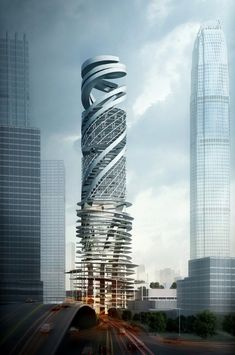 Car Park Tower, Hong Kong, China by Mozhao Studio :: AC-CA winning design
