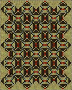 Use Barrister Quilt Blocks to Sew This On-Point Quilt: How to Make a Quilt with Barrister Quilt Blocks