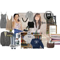 Rory Gilmore by brownielovegood on Polyvore featuring polyvore, fashion, style, 3.1 Phillip Lim, Yuki, Rachel Comey, Mike & Chris, Charlotte Russe, American Eagle Outfitters, SNOB, Converse, Rupert Sanderson, Hollister Co. and Karl Lagerfeld