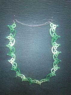 úzlíčkový náhrdelník