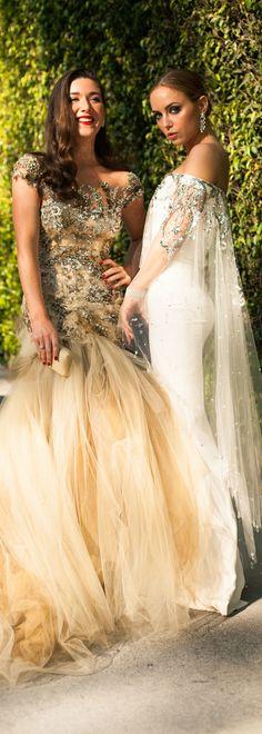 Marchesa gowns <3 love both!