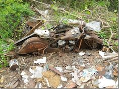 Early '50s Indian Chief. Somebody save it !!