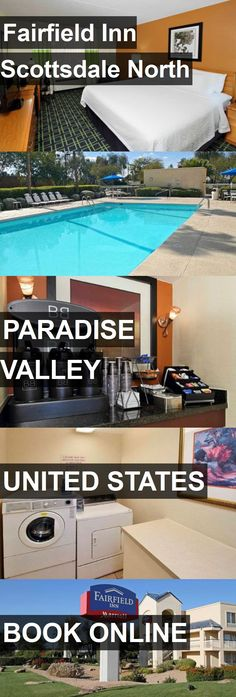 Hotel Fairfield Inn Scottsdale North in Paradise Valley, United States. For more information, photos, reviews and best prices please follow the link. #UnitedStates #ParadiseValley #travel #vacation #hotel