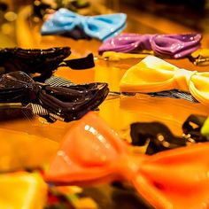Ceramic bow ties for the man who dares... an old-fashioned dandy with an avant-garde twist. #DejavuNYC #UES #FashionxArt #AvantGarde #Haberdashery #Style
