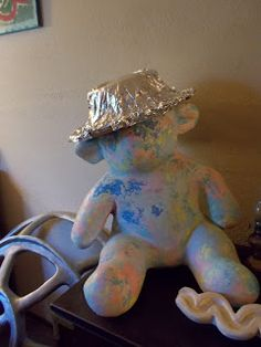 Tin Foil hat that the Daily Kos (net) requested for idiot Congressman, Dana Rohrabacher of #OC, Ca