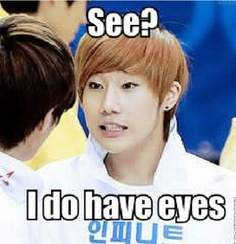 Sunggyu INFINITE #sunggyu #infinite  I shouldn't laugh at this, but he's so cute I can't help it