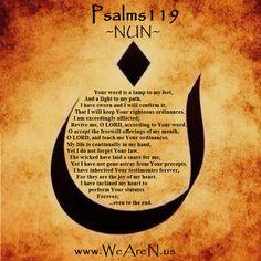 Psalms 119   #WeAreN  #DemandForAction