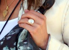Jennifer Aniston's Diamond Engagement Ring from Justin Theroux