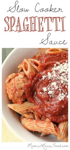 This Slow Cooker Spaghetti Marinara Sauce Recipe comes to my rescue when we (inevitably) run out of jarred marinara sauce on spaghetti night. Thankfully it's made from ingredients I always have floating around the pantry, it's super easy, and 'oh hey!' it tastes good too! Go ahead and make it a meal with whole grain ... Read More about Slow Cooker Spaghetti Marinara Sauce Recipe.