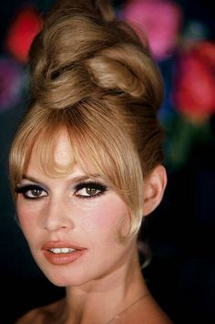 Brigitte Bardot - fabulous up-do