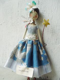 beautiful fairy dolls from The Magpie and the Wardrobe