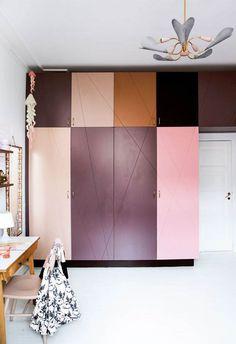 55 Interior House Paint Design Ideas - Home Decorations Trend 2019 House Paint Design, House Paint Interior, Paint Designs, Block Painting, Painting Trim, House Painting, Bedroom Paint Colors, Interior Paint Colors, Interior Design
