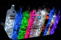 ImageFind images and videos about drink and vodka on We Heart It - the app to get lost in what you love. Alcohol Aesthetic, Neon Aesthetic, Bad Girl Aesthetic, Photo Wall Collage, Picture Wall, 18th Birthday Party, Glow Party, Bottle Lights, Aesthetic Pictures