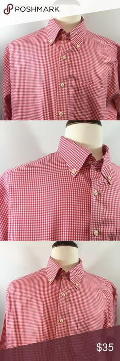 Men's Peter Millar NWOT Button Down Shirt. Men's Peter Millar XL Long Sleeve NWOT Shirt. In excellent condition never used. Nice pink plaid and Checks pattern throughout design. Made of 100% Cotton. Thanks for shopping my closet! Peter Millar Shirts Dress Shirts