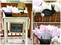 While Wearing Heels: Bunny Themed Birthday Party - The Big Reveal