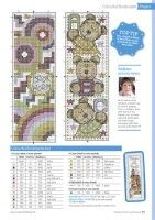 ru / Фото - The World of Cross Stitching 266 - tymannost Cross Stitching, Bookmarks, Diagram, Map, World, Gallery, Crochet, Frame, Embroidery