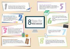 Infografik Webdesign